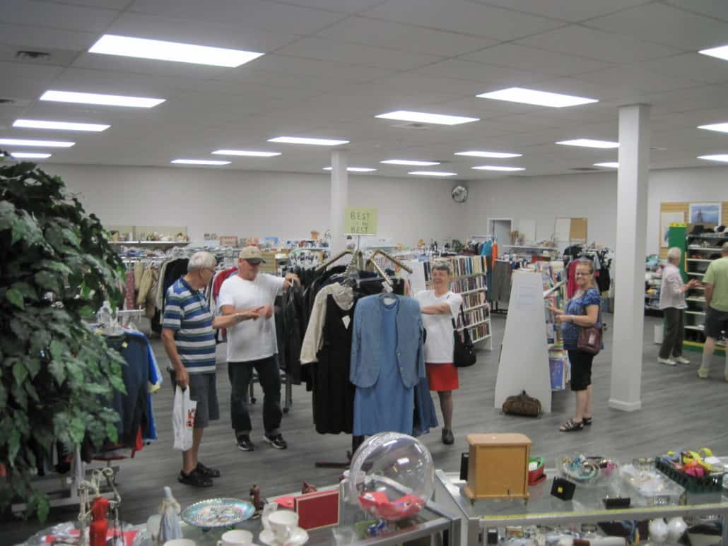 Image of interior of Flutter Buys Thrift Store