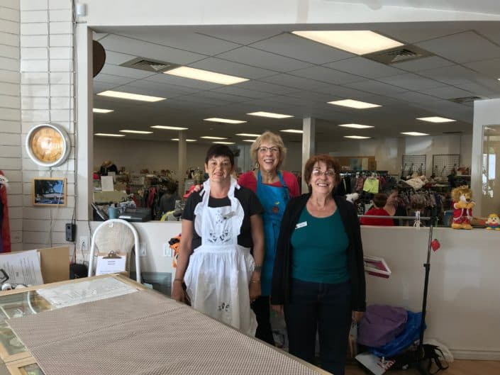 Flutter Buys - Thrift Store Some of our Saturday Volunteers
